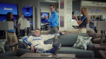 Aaron's TV Spot, '17 Years Together' Featuring Michael Waltrip - Thumbnail 9