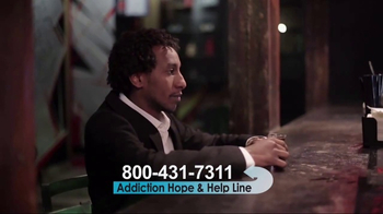 Addiction Hope and Helpline TV Spot, 'The First Step to Recovery' - Thumbnail 3
