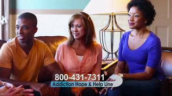 Addiction Hope and Helpline TV Spot, 'The First Step to Recovery' - Thumbnail 9