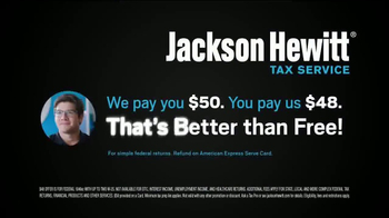 Jackson Hewitt Better Than Free Federal Tax Returns TV Spot, 'Mr. Free' - Thumbnail 5