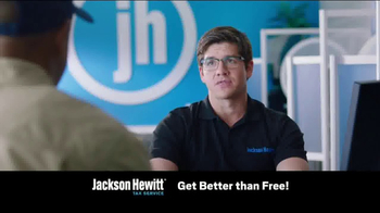 Jackson Hewitt Better Than Free Federal Tax Returns TV Spot, 'Mr. Free'