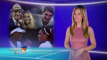 Outside the Ball TV Spot, 'Not Your Ordinary Tennis Interviews'