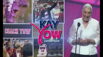 Kay Yow Cancer Fund TV Spot, 'Basketball Fans' Featuring Stephanie Glance - Thumbnail 2