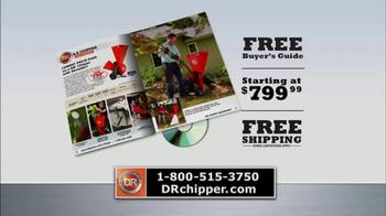 DR Power Chipper TV Spot, 'Free Buyer's Guide' - Thumbnail 4