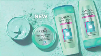 L'Oreal Hair Expert Paris Extraordinary Clay TV Spot, 'Fresh Hair'