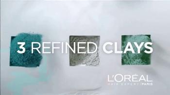 L'Oreal Hair Expert Paris Extraordinary Clay TV Spot, 'Fresh Hair' - Thumbnail 4
