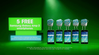 Cricket Wireless TV Spot, 'Five Lines for $100' - Thumbnail 2