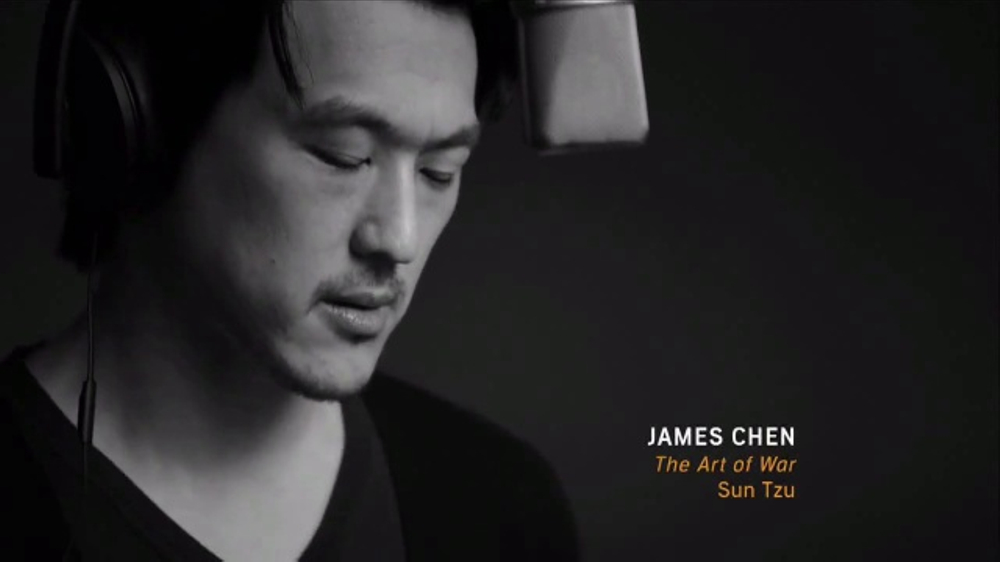 Audible.com TV Commercial, 'James Chen Performs From