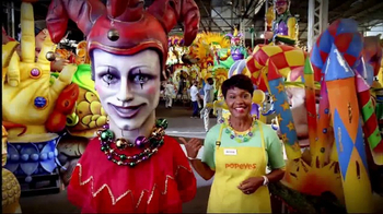 Popeyes Mardi Party Pack TV Spot, 'Celebrate'