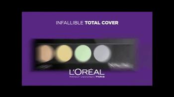 L'Oreal Infallible Total Cover TV Spot, 'Forever' - Thumbnail 9