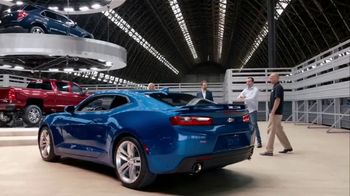 Chevrolet Presidents Day Chevy Drive Event TV Spot, 'No Words' [T2] - Thumbnail 1