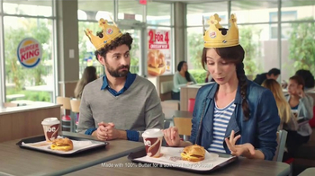 Burger King Croissan'wich TV Spot, 'What She Said' - 5839 commercial airings