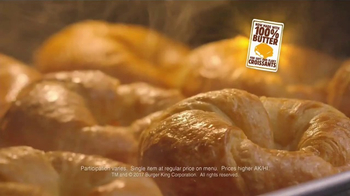 Burger King Croissan'wich TV Spot, 'What She Said' - Thumbnail 4