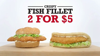 Arby's Crispy Fish Fillet TV Spot, 'The Difference' - Thumbnail 3