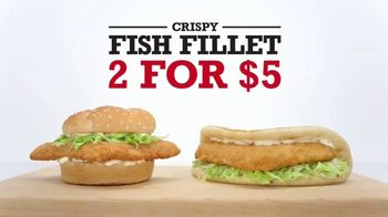 Arby's Crispy Fish Fillet TV Spot, 'The Difference' - 1024 commercial airings