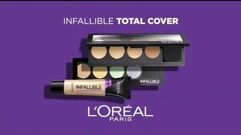 L'Oreal Paris Infallible Total Cover TV Spot, 'Para siempre' [Spanish] - Thumbnail 5