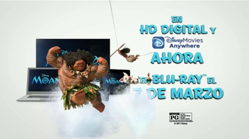 Moana Home Entertainment TV Spot [Spanish] - Thumbnail 7