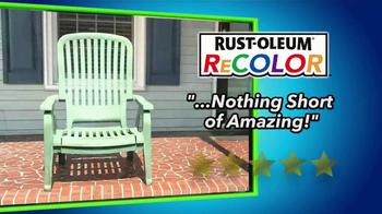 Wipe New Rust-Oleum ReColor TV Spot, 'Great Results' - 1261 commercial airings