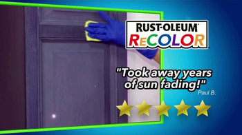 Wipe New Rust-Oleum ReColor TV Spot, 'Great Results' - Thumbnail 3