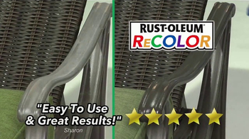 Wipe New Rust-Oleum ReColor TV Spot, 'Great Results' - Thumbnail 4