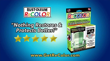 Wipe New Rust-Oleum ReColor TV Spot, 'Great Results' - Thumbnail 7
