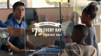 Domino's TV Spot, 'Blood, Sweat and Teardowns' - Thumbnail 10