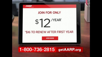 AARP TV Spot, 'Benefits Start Instantly' - Thumbnail 3