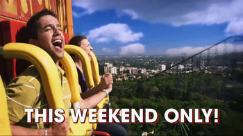 Six Flags Park Opening Season Pass Sale TV Spot, 'Now Open Weekends' - Thumbnail 7