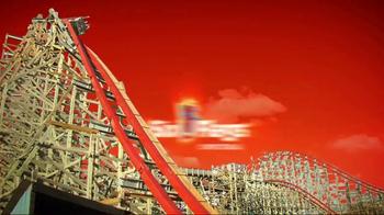 Six Flags Park Opening Season Pass Sale TV Spot, 'Now Open Weekends' - Thumbnail 1