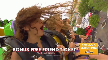 Six Flags Park Opening Season Pass Sale TV Spot, 'Now Open Weekends' - Thumbnail 4