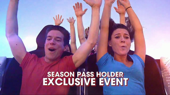 Six Flags Park Opening Season Pass Sale TV Spot, 'Now Open Weekends' - Thumbnail 5