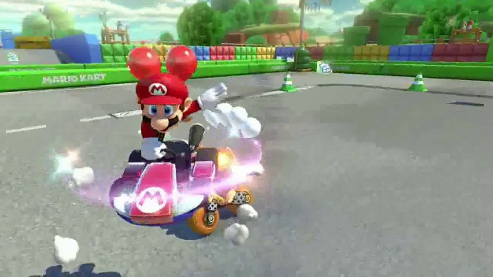 Mario Kart 8 Deluxe TV Commercial, 'Disney Channel: Think Fast'