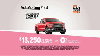 AutoNation Truck Month TV Spot, '2016 Ford F-150' - Thumbnail 7