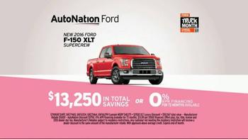 AutoNation Truck Month TV Spot, '2016 Ford F-150' - Thumbnail 8