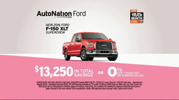 AutoNation Truck Month TV Spot, '2016 Ford F-150' - Thumbnail 9