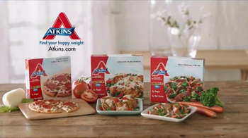 Atkins Frozen Meals TV Spot, \'Time Well Spent\'