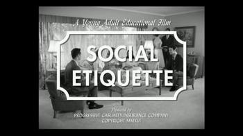Progressive TV Spot, 'Social Etiquette' - Thumbnail 1