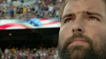 USAA TV Spot, 'NFL Salute to Service: Villanueva and Quinn' - 1 commercial airings
