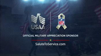 USAA TV Spot, 'NFL Salute to Service: Villanueva and Quinn' - Thumbnail 9
