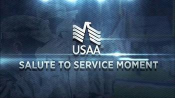 USAA TV Spot, 'NFL Salute to Service: Villanueva and Quinn' - Thumbnail 1