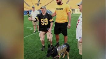 USAA TV Spot, 'NFL Salute to Service: Villanueva and Quinn' - Thumbnail 6