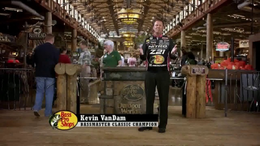 Bass Pro Shops Spring Fever Sale TV Commercial, 'Spin Combo' Feat. Kevin VanDam