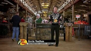 Bass Pro Shops Spring Fever Sale TV Spot, 'Spin Combo' Feat. Kevin VanDam