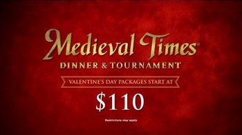 Medieval Times TV Spot, 'Valentine's Day: $110 Couples Packages' - Thumbnail 6