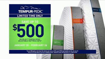 Tempur-Pedic TV Spot, 'Keeps You Comfortable' - Thumbnail 7