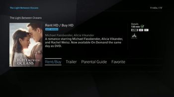 XFINITY On Demand TV Spot, 'The Light Between Oceans' - Thumbnail 6