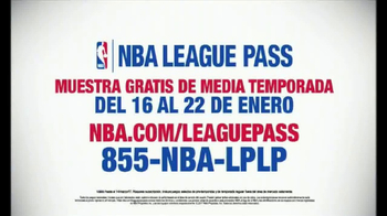 NBA League Pass TV Spot, 'Muestra gratis de media temporada' [Spanish] - Thumbnail 6