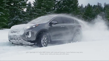 2017 Kia Sportage TV Spot, 'Snow Day: Father & Daughter' [T2]