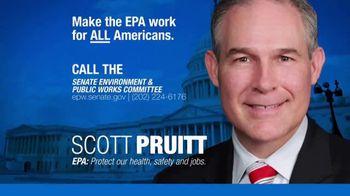 NAM TV Spot, 'Support Scott Pruitt to Promote Transparency'