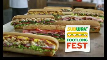 Subway Footlong Fest TV Spot, 'Tus favoritos' [Spanish] - Thumbnail 3